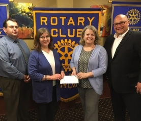Rotary Club of Wilkes-Barre donates $8,200 to the Osterhout Free Library