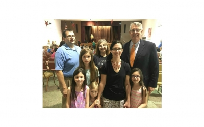 Senator John Yudichak and Family Donate to Luzerne County Library System